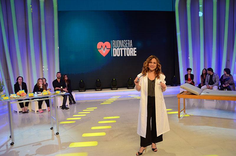 Valeria Graci con camice